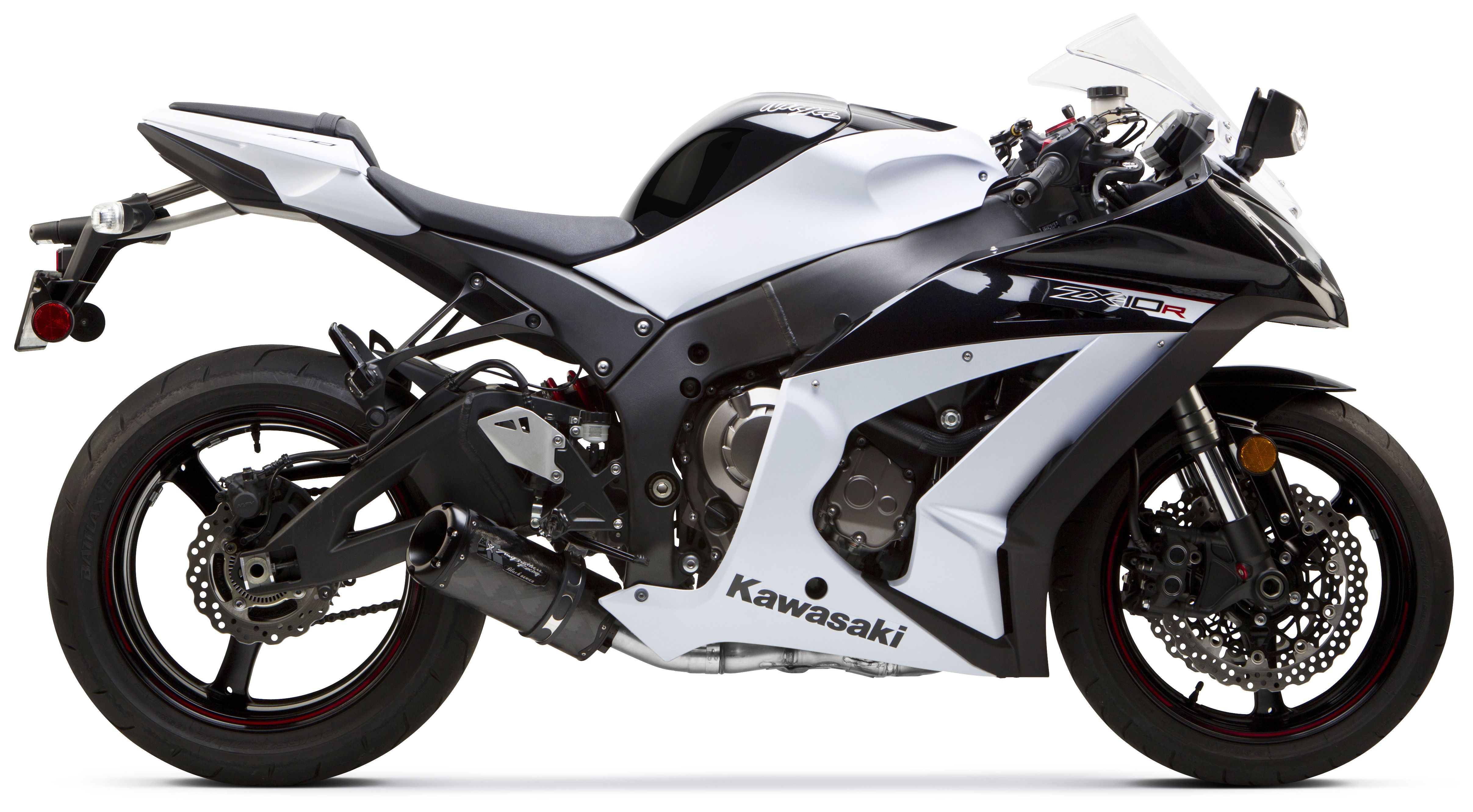 Two Brothers M2 Black Series Cat-Eliminator Slip-On Exhaust Kawasaki ZX10R  2011-2015 | 15% ($94 50) Off!