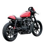 Burly Cafe Solo Seat Tail Section For Harley Sportster 2007-2009