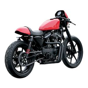 Burly Cafe Solo Seat Tail Section For Harley Sportster