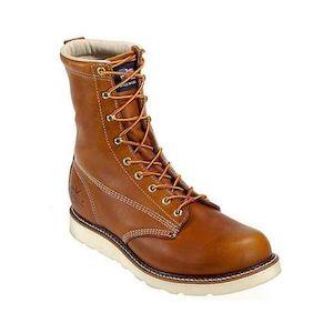 """Thorogood 8"""" Plain Safety Toe Boots (11.5)"""