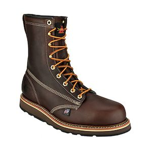 "Thorogood 8"" Plain Safety Toe Boots"