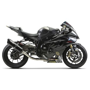Two Brothers M-2 Black Series Exhaust System BMW S1000RR 2010-2014