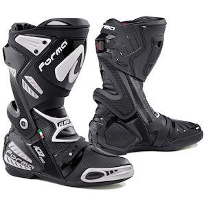 TCX RT-Race Race Track Sport Moto Stivali Nero 38