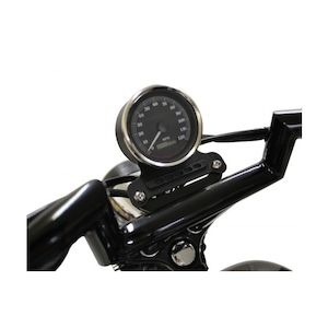 LA Choppers T-Bar Gauge Mount For Harley