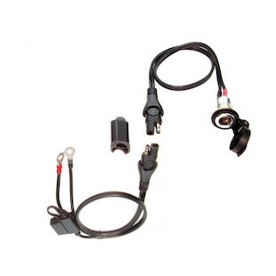 TecMate DIN Socket To SAE With Battery Harness