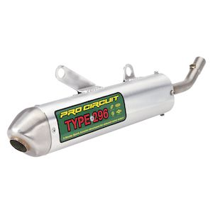 Pro Circuit Type 296 S/A Silencer Husqvarna CR / WR / 125 / 150 2009-2013