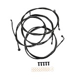 LA Choppers Handlebar Cable And Brake Line Kit For Harley Touring w/ABS 2014-2016