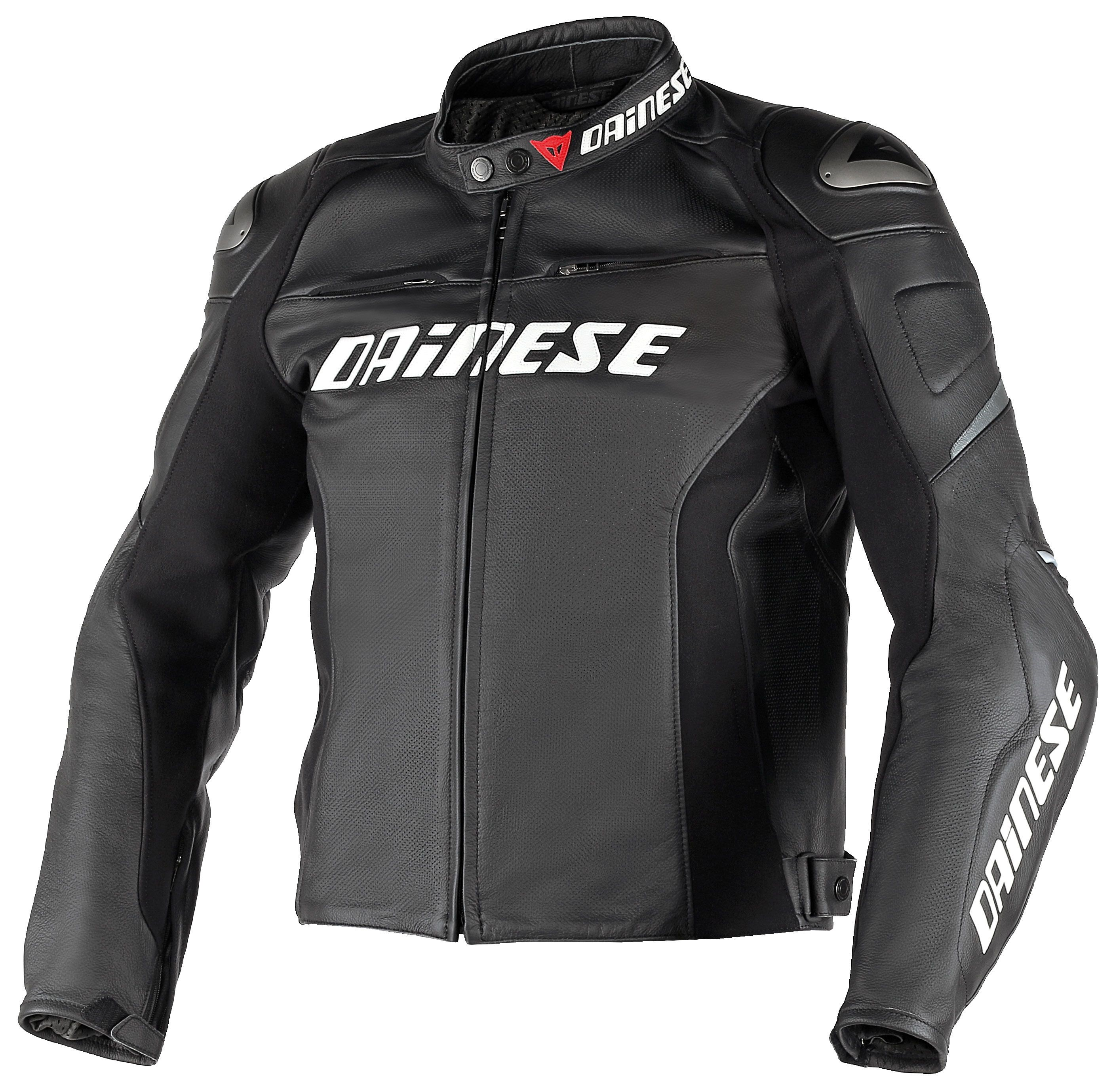 Dainese Racing D1 Perforated Leather Jacket Revzilla