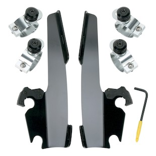 Memphis Shades Fats / Slim / Batwing Trigger-Lock Mount Kit For Harley Sportster Super Low 2011-2018