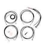LA Choppers Handlebar Cable Brake Line And Wire Kit For Harley Touring w/ABS 2014-2015