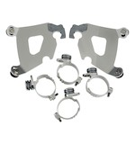 Memphis Shades Cafe Fairing Trigger-Lock Mount Kit For Harley Sportster Custom 2011-2017