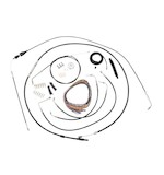 LA Choppers Handlebar Cable Brake Line And Wire Kit For Harley Touring 2007