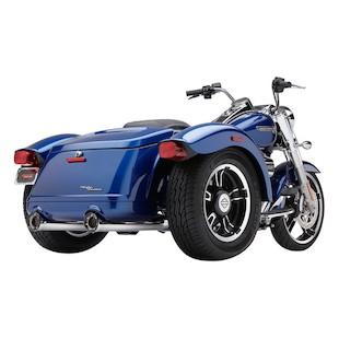 Cobra RPT Slip-On Mufflers For Harley Freewheeler 2015-2016
