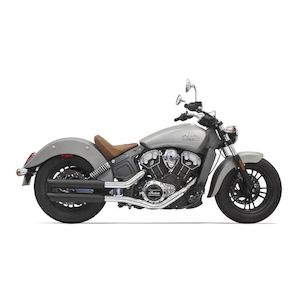 "Bassani 3"" Slip On Mufflers For Indian Scout 2015-2019"