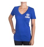 One Industries Women's Yamaha Icon V-Neck T-Shirt