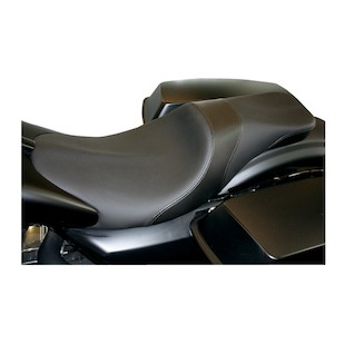 Danny Gray Weekday 2-Up Seat For Paul Yaffe Stretched Tank Harley Touring 2008-2017
