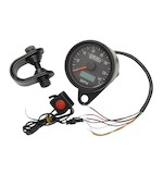 "Drag Specialties 2.4"" Programmable Speedometer For Harley"