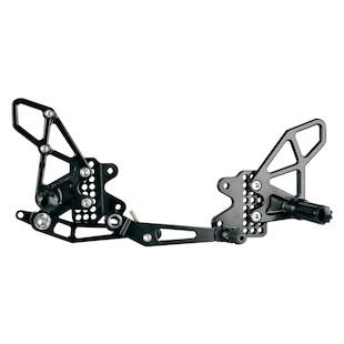 Vortex Adjustable Rearsets GSXR1000 2009-2015