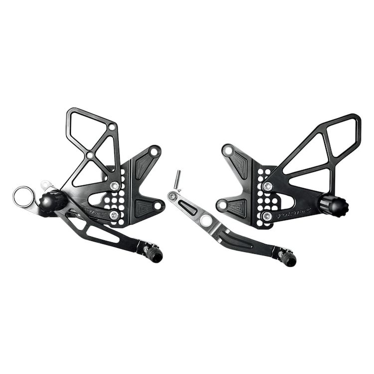 Vortex Adjustable Rearsets Yamaha R