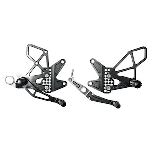 Vortex Adjustable Rearsets Yamaha R6 2006-2015