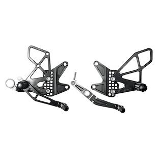 Vortex Adjustable Rearsets Yamaha R6 2006-2015