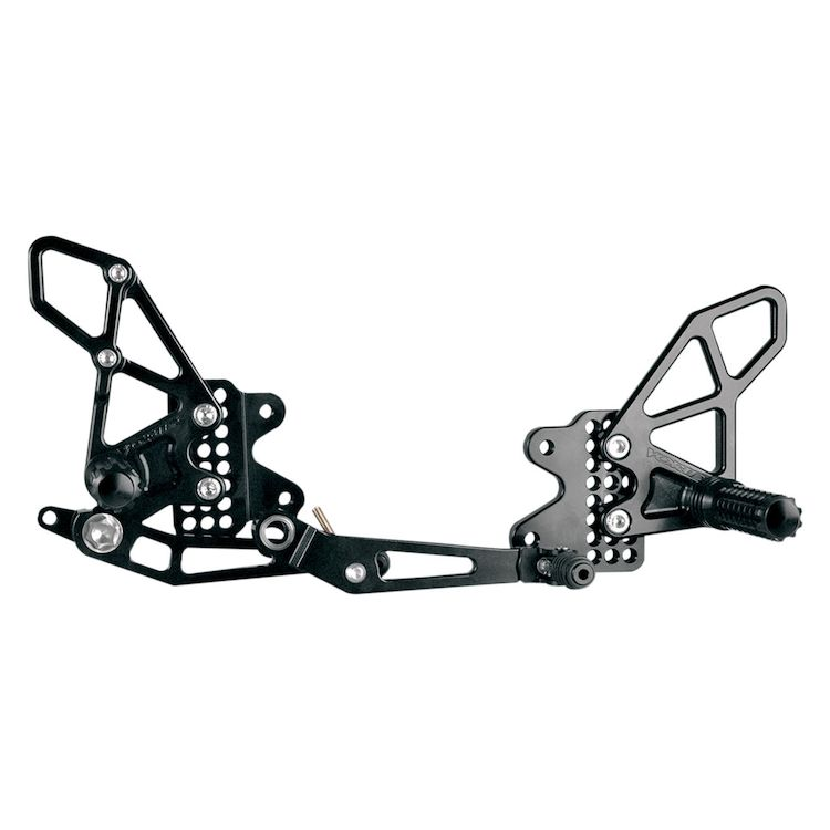 Vortex Adjustable Rearsets GSXR600 / GSXR750 2006-2010