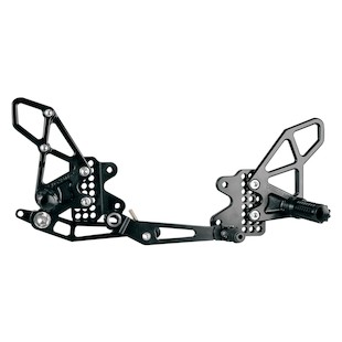 Vortex Adjustable Rearsets GSXR600/750 2006-2010
