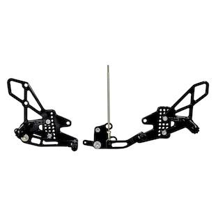 Vortex Adjustable Rearsets Yamaha FZ1 / FZ8