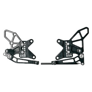 Vortex Adjustable Rearsets Kawasaki ZX6R / ZX636 2013-2015