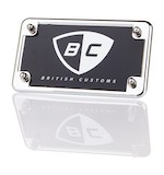 British Customs Flat License Plate Mount Triumph Bonneville / SE / T100 / Thruxton / Scrambler