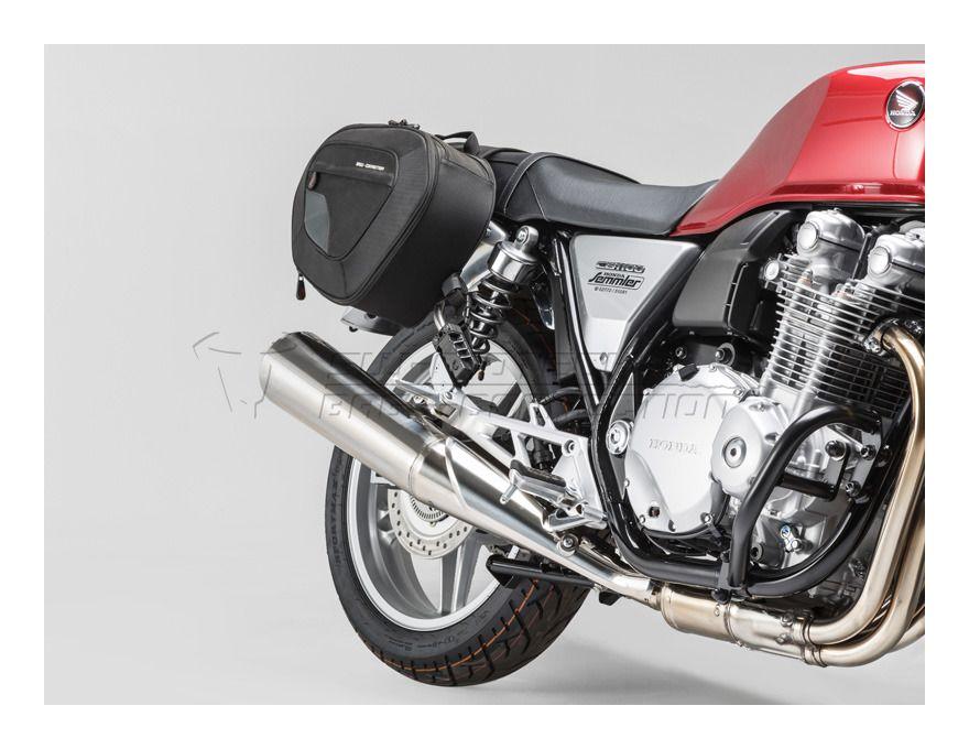 sw-motech blaze saddlebag system honda cb1100 2013-2014 - revzilla