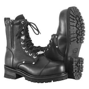 River Road Double Zipper Field Boots