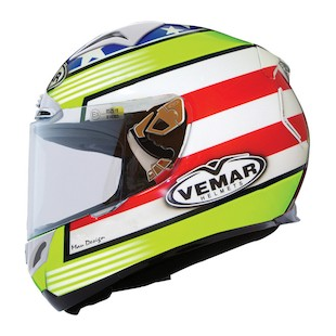 Vemar Eclipse Race USA Helmet (Size XL Only)