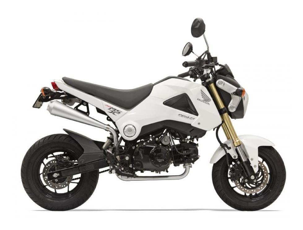 2015 Honda Grom >> Bassani Exhaust Honda Grom 2014 2015