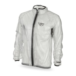 Fly Racing Clear Rain Jacket