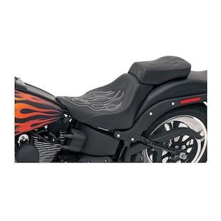 Saddlemen Tattoo Passenger Seat For Harley Softail 1984-1999