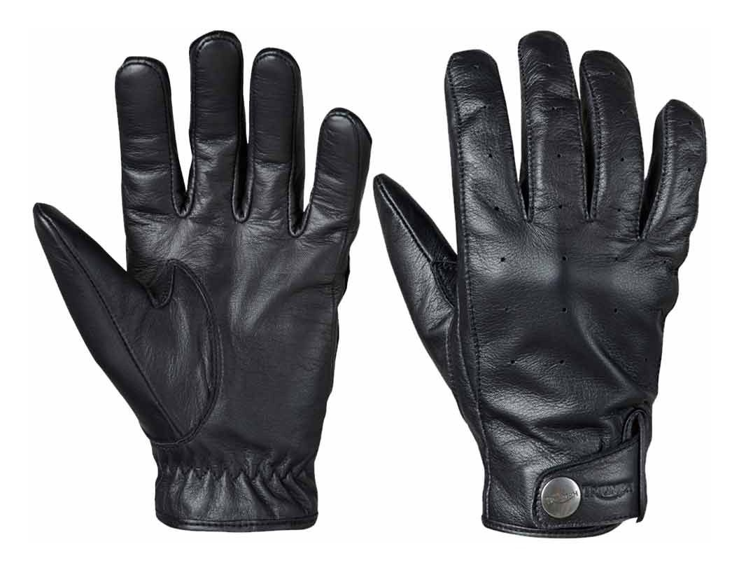 Triumph motorcycle leather gloves -