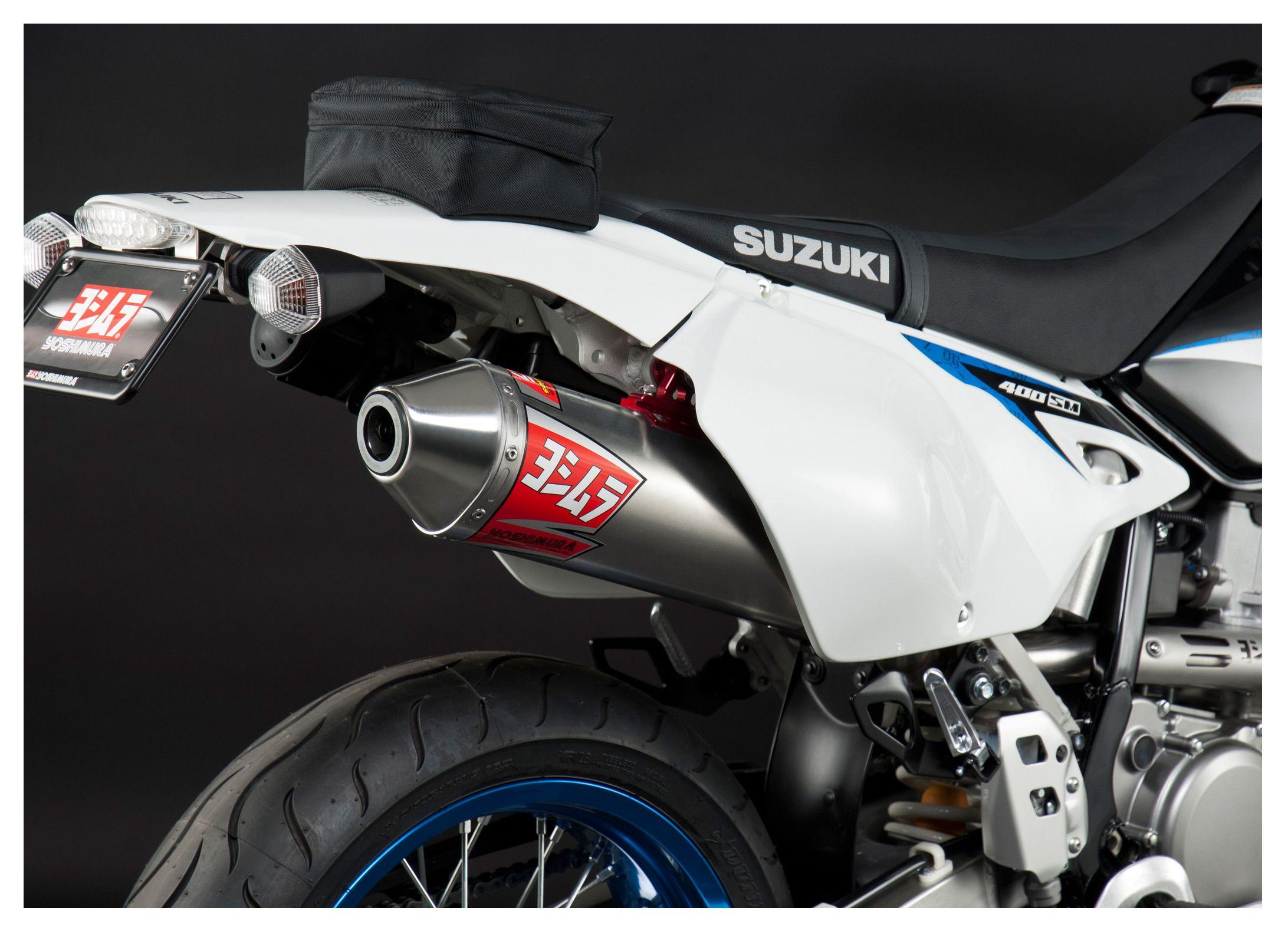 Yoshimura RS2 Street Exhaust System Suzuki DRZ400SM / DRZ400S