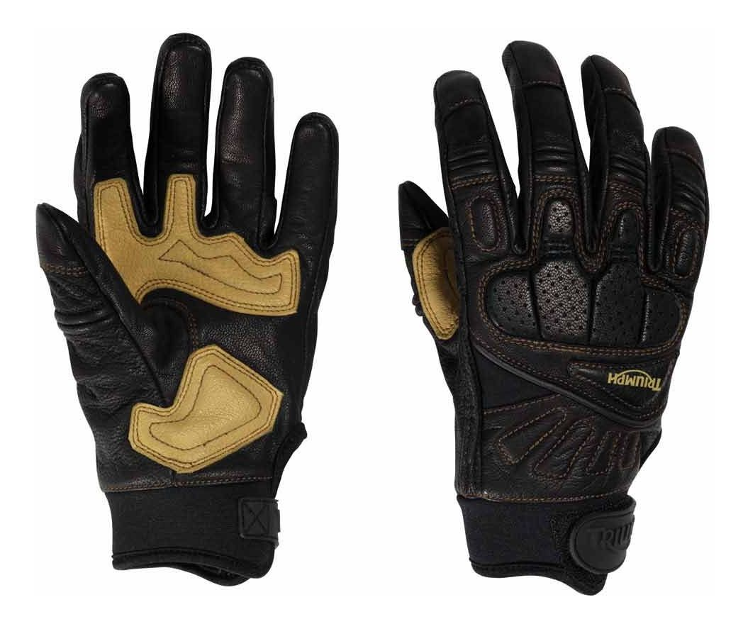 Triumph motorcycle leather gloves - Triumph Motorcycle Leather Gloves 11