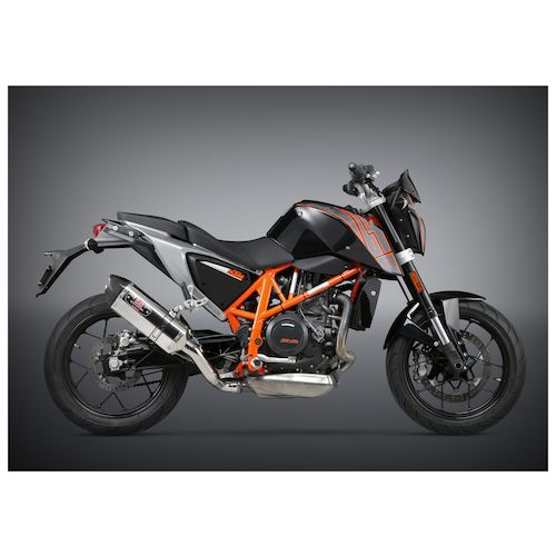 yoshimura r77 signature slip-on exhaust ktm 690 duke 2013-2017