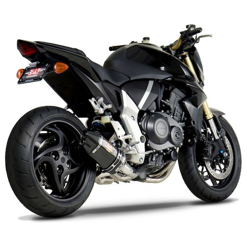 yoshimura r77d race slip on exhaust honda cb1000r 2011 2016 revzilla. Black Bedroom Furniture Sets. Home Design Ideas