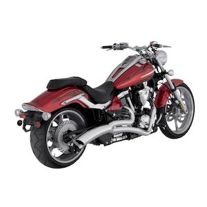 Vance & Hines Big Radius 2-Into-1 Exhaust For Yamaha Raider XV1900C 2008-2014
