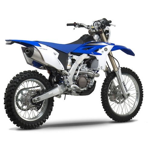 yoshimura rs4 exhaust system yamaha wr450f 2012 2015 revzilla. Black Bedroom Furniture Sets. Home Design Ideas