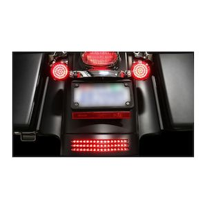 Custom Dynamics LED Tri-Bar Fender Tip Lights For Harley Touring