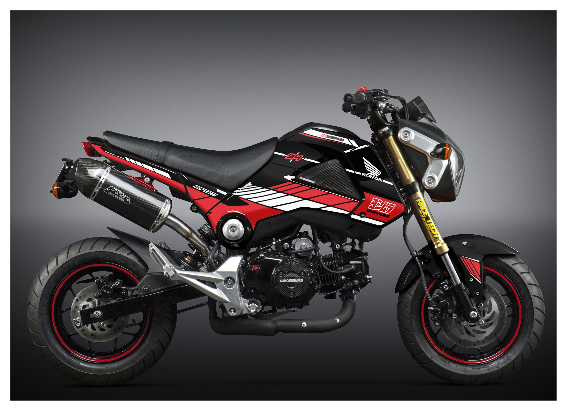 Yoshimura Graphic Kit Honda GROM 2014-2015 | 5% ($4 50) Off!