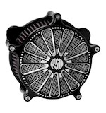 Roland Sands Venturi Domino Air Cleaner For Harley Big Twin 1993-2015 Contrast Cut [Open Box]