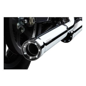 "Cobra 3"" RPT Slip-On Mufflers For Harley Softail Fatboy / Deuce 2000-2006"