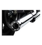 """Cobra 3"""" RPT Slip-On Mufflers For Harley Softail Deluxe / Crossbones 2007-2017"""