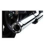 "Cobra 3"" RPT Slip-On Mufflers For Harley Dyna 2008-2017"