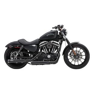 """Cobra Heat Shields For 3"""" Slip-On Mufflers For Harley Sportster 2014-2018"""